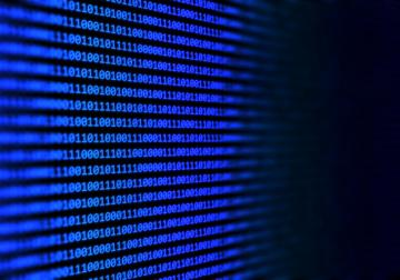 Código binário de programação