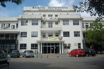 Fachada do Hospital Universitário Cassiano Antonio Moraes